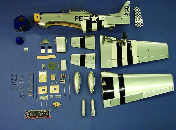 Aeroworks, aeroworks North American P-51 Mustang, p-51 mustang, model airplane news, model airplanes, model aviation, photo 9, parts, PE