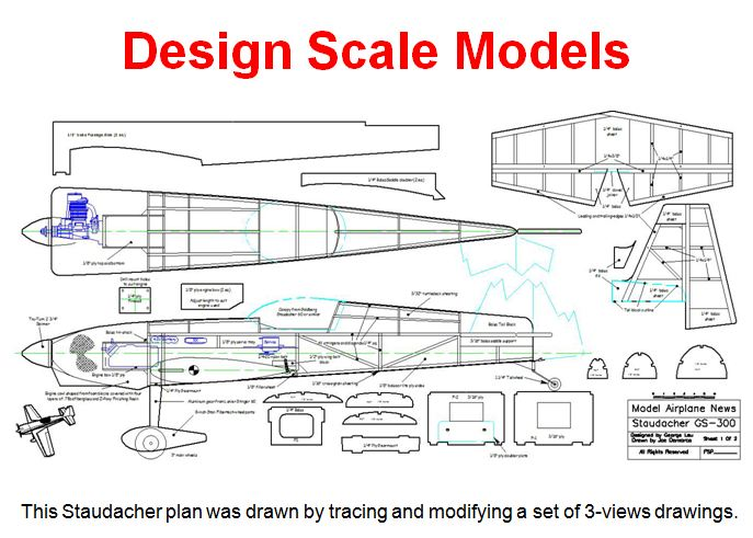 Cad Design For Rc Airplanes Model Airplane News