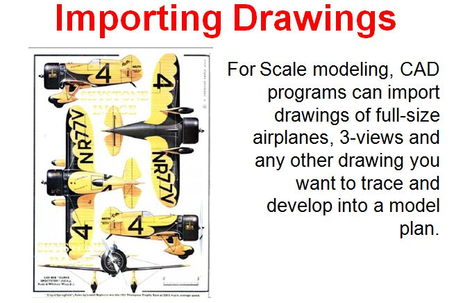 Computer Aided Design And Developing Rc Airplane Plans