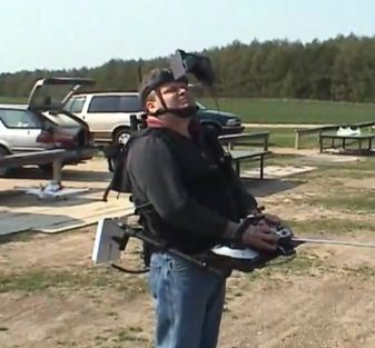 FPV Flight with Gary Graf and his Octo-Copter - Model