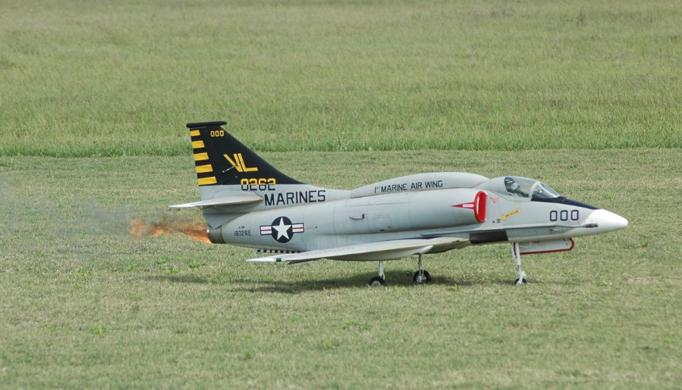vl 8262 marines, a-4 skyhawk, photo 5, model airplane news, florida jets, florida jets 2011, model airplanes, model aviation