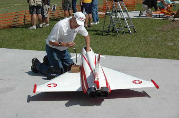 photo 11, ambulance jet, florida jets, florida jets 2011, model airplane news, model airplanes, model aviation, white, red