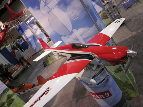 Sundowner 36, 36 size racer, glow power, electric power, horizon booth, model airplane news, model aviation, model airplanes, photo 2, horizon hobby