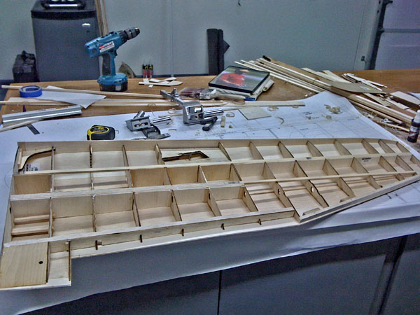 Meister Scale Giant Scale P-47 Thunderbolt, meister scale, model airplane news, model aviation, model airplanes, photo 3, wing retract mounts, fitting laser cut parts