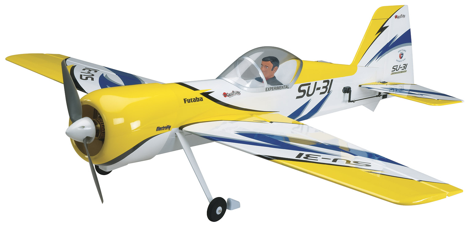 Backyard Flyer Part - 42: ElectriFly, SU-31 3D E, Electric Rc, Rc Model, Model Aircraft