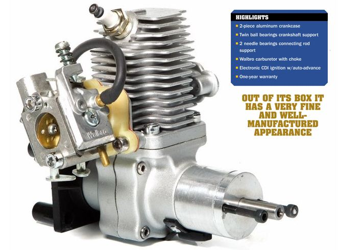 SV17cc Gasoline Engine from Troy Built Models - Model