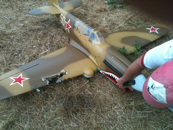 Warbird Rebuild—Skyshark ARF P-40N, model airplane news, model airplanes, model aviation, photo 13, 50, giant scale warbird