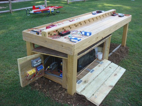 Solar-Powered Charging Station for Electric Planes - Model ...