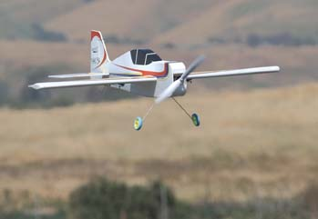 RC Plane in Flight