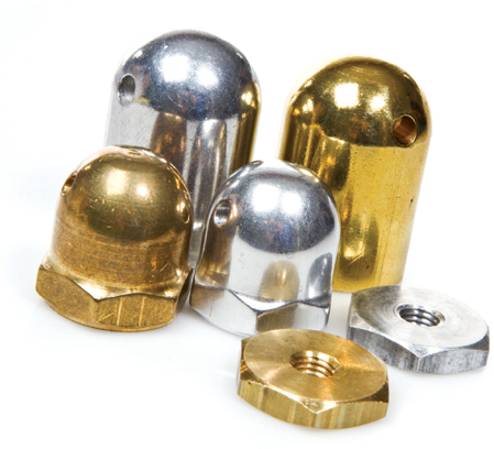 Harry Higley Safety Spinner Nuts and Heavy Hubs