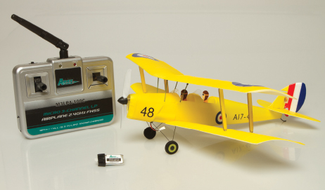 Ares Tiger Moth 75: A ready-to-fly nano-micro indoor flyer