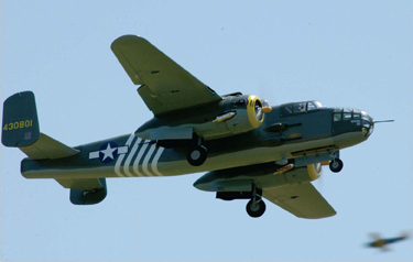 Top Flite B-25 Mitchell bomber