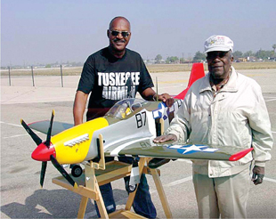 Tuskegee aviator Col. Paul Green