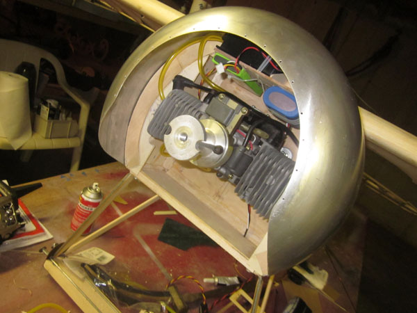Arizona Model Aircrafters -- Engine Cowling