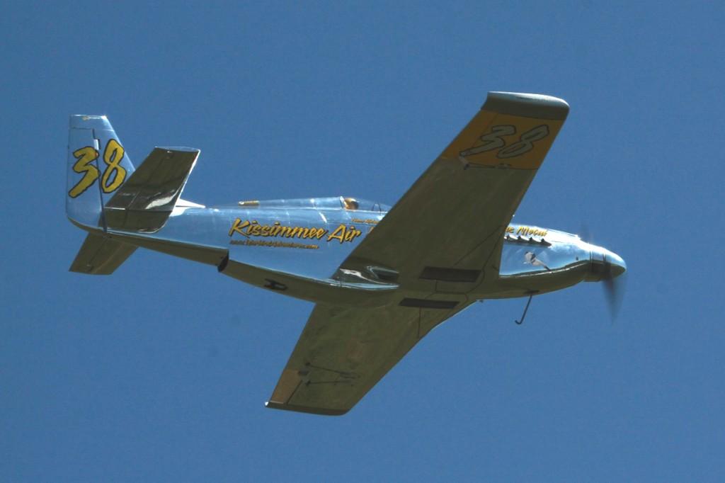Precious Metal P-51 Reno Racer