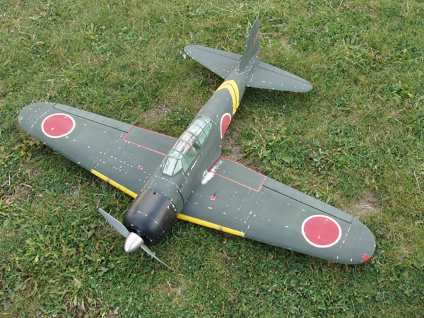 Tora, Tora, Tora! A Japanese A6M3 Zero you can build