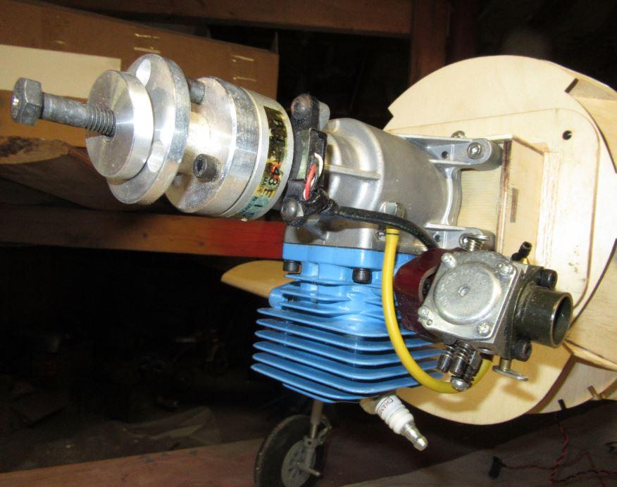 RC Model Airplane Removable Engine Mount Box Firewall - MAN Sneak