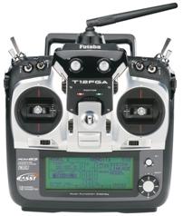 Futaba 12-channel 2.4GHz radio