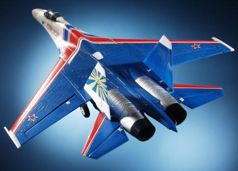 Su-27 Russian Knights Brushless ARF