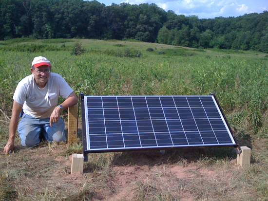 Solar-Powered Charging Station for Electric Planes
