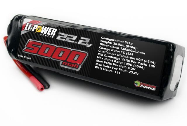 Venom 50C LiPo Batteries