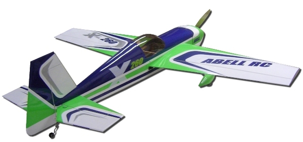 Abell Hobby Green Machine Extra 260