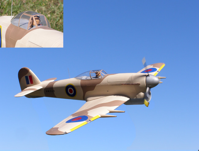 WowPlanes 1/8 Scale Hawker Typhoon