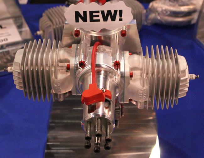 Desert Aircraft 120cc Gas Engine