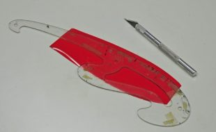 Model Plane Construction: Covering a Wingtip