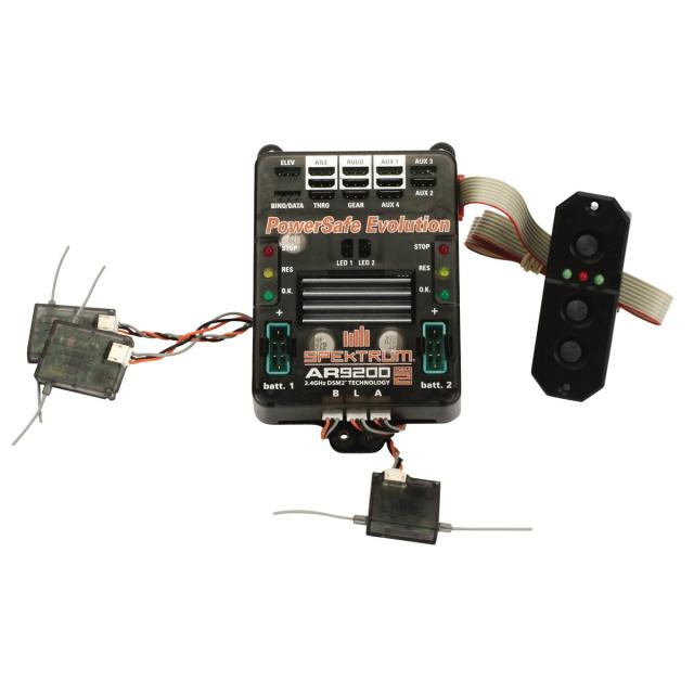 Spektrum AR9200 Power Safe Evolution Receiver