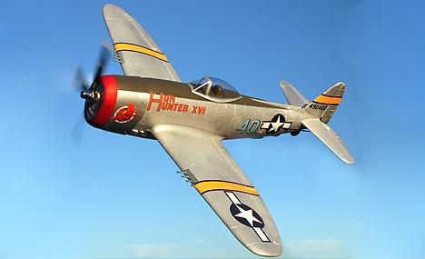 The Hun Hunter XVI P-47 Thunderbolt