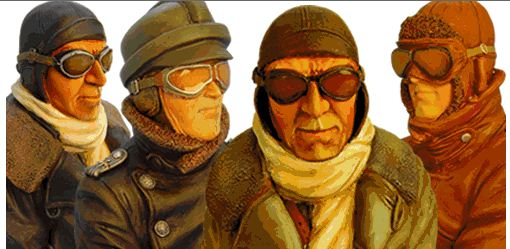 Scale Pilot Figures and Busts–Add Life to your RC Plane