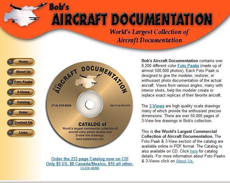 Bob's Aircraft Documentation