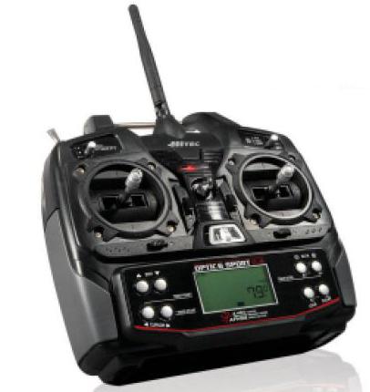 Hitec Optic 6 Sport 2.4GHz Radio System