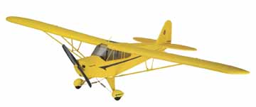 FLYZONE SUPER CUB SELECT SCALE Rx-R