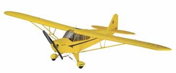 FLYZONE SUPER CUB SELECT SCALE Rx-R
