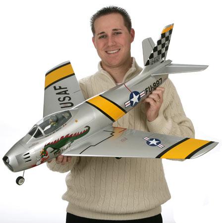 F-86 Sabre 15DF ARF from E-flite