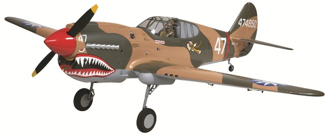 Top Flite Gold Edition Giant P-40 Warhawk ARF