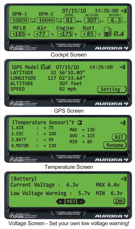 Hitec 2.4GHz Real-time Telemetry System