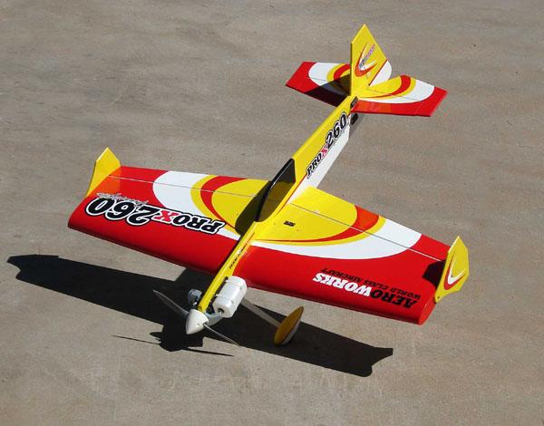 "Aeroworks 60-.90 ProX 260 ""Freestlye"""