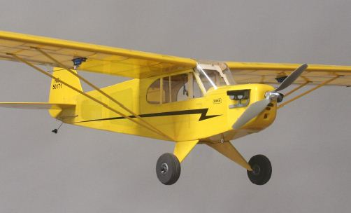 Alien Aircraft Piper Cub Kit