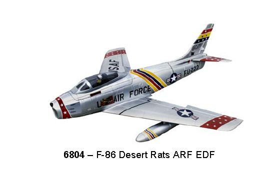 F-86 Sabre Jet in 3 Striking Schemes