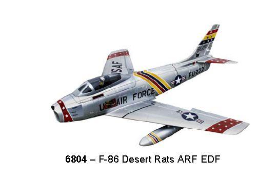 F-86 Sabre Jet in 3 Striking Schemes