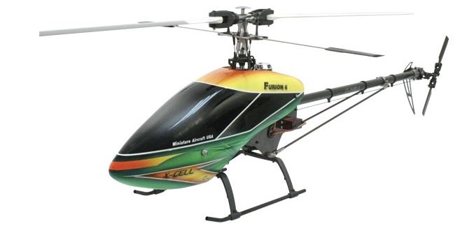 High-end helicopter for demanding pilots!