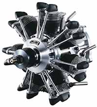 O.S. Engines Sirius 4-stroke engine