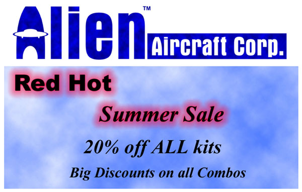 "Alien Aircraft Corp. ""Summer Sale"""