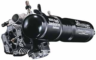 55HZ Limited Edition Heli Engine with PowerBoost Pipe