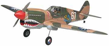 "THE NEW ""FLYING TIGERS"" P-40 WARHAWK FROM TOP FLITE GOLD EDITION"