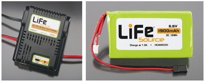 life source ac  dc charger  u0026 6 6v 1900mah pack