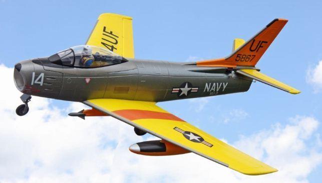 Hobby Lobby FJ-3 Fury Navy Jet